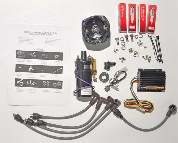 ignkit electronic ignition now available in a complete do it yourself Ford Ignition Wiring Diagram at bayanpartner.co